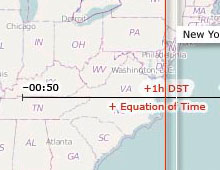 Time Zone Difference II